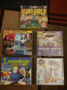 Lot Of New Pc Games 5 Brand New Games Lemmings Mini Golf Masters 2 And More