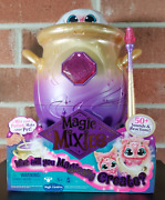 Magic Mixies Magical Misting Cauldron Interactive 8 Plush Toy Pink New In Hand