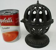 Antique General Store Black Iron String / Twine Holder Authentic Ca. 1910-1920