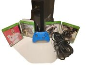 Xbox One 500gb Model 1540 Black Console With 4 Games, Controller And Power Cable