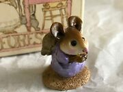 Wee Forest Folk Nativity Pageant Mouse Figurine Praying/prayer 1987