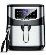 Electric Air Fryers Oven Oilless Cooker Led Touch Screen W/ Cooking Functions