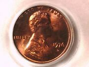 1976 D Lincoln Memorial Cent Penny Pcgs Ms 66 Rd 11028280