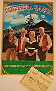 Ponderosa Ranch Pictorial Guide - Worlds Most Famous Ranch Setting For Bonanza