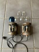Vintage Brass Combined Bow Boat Ships Lights Lamps Best And Lloyd 1945