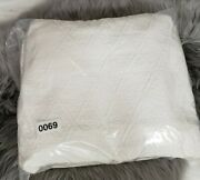 Pottery Barn Nwot White Reeve Matelasse Daybed Cover Twin Sold Out @ Pb