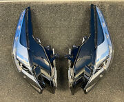2019 Cadillac Cts Pair Of Headlamps Used Grade A 84319716/84319717