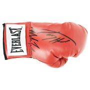 Signed Mike Tyson And Larry Holmes Boxing Glove - World Champions +coa