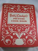 Vtg First Edition 9th 1950 Betty Crocker Picture Cook Book Hard Bound 5 Ring