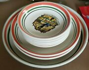 Lot 8 Himark Crafted In Italy 5 Spaghetti Pasta Bowls And 3 Larger Serving Bowls