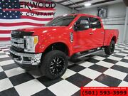 2017 Ford F-350 Srw F250 Xlt 4x4 Power Stroke Diesel Red Lifted 2017 Ford Super Duty F-350 Srw F250 Xlt 4x4 Power Stroke Diesel Red Lifted