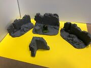 28mm Gothic Ruins Parts - Wargaming - Diorama - Undercoated