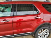 13 14 Ford Explorer Driver Rear Side Door Electric Green Tinted Glass Red