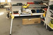 Dewalt Dw716 12 In. Compound Double Bevel Miter Saw And Job Site Stand