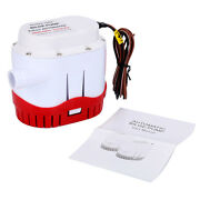 Automatic Submersible Boat Bilge Water Pump 2000gph Auto And Built-in Float Switch