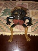 Vintage Russ Berrie Fruggy Oily Jiggler With Hat 1966 No Tag Mint