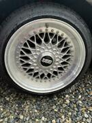 Jdm Rare Beauty Vintage Bbs Rs 16in 4 Holes 114.3 7j 8j No Tires