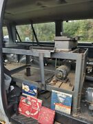 Vintage Craftsman Table Saw With Jointer And Oringinal Stand, Runs Well