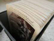 Boxed Set Of 65 Views Of The World Stereoview Cards + Box Underwood And Underwood