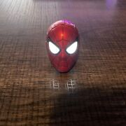 Hot Toys Mms482 Iron Spider Spider-man 1/6 Head Sculpt With Led Light-up