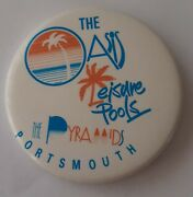 Button Badge The Oasis Leisure Pools The Pyramids Portsmouth