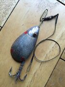 A Vintage Glass Eyed Canadian Bar Spoon Lure.