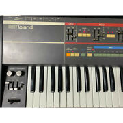 Roland Juno-106 61-keys 6 Voice Programmable Polyphonic Synthesizer Repairing