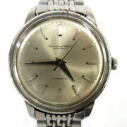 Schaffhausen Watch Silver Automatic Fish Crown Confirmed Operation