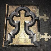 Antique Holy Catholic Bible Douay And Rheims 1800's
