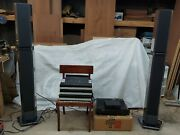 Bang And Olufsen Beomaster 5500 System With Penta Speakers And Amplifier