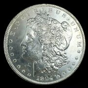 1904 O Morgan Dollar Full Of Luster Unc. 90 Silver 1 Us Coin Collectible 484