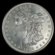 1904 O Morgan Dollar Full Of Luster Unc. 90 Silver 1 Us Coin Collectible 486