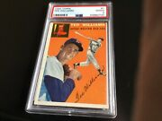 1954 Topps 1 Ted Williams Psa2 Good