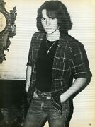 Matt Dillon Pinup Clipping From A Magazine 80's Super Hot In Jeans Young