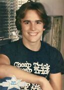 Matt Dillon Pinup Clipping From A Magazine 80's Young Cute Smile