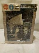Extremely Rare-vintage-1963-gilbert Micology Micro Projector Set-antique