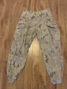 Canadian Forces Cadpat Arid Trousers Size 7034