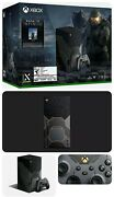 Xbox Series X Halo Infinite Limited Edition Bundle Pre Sale Confirmed Order