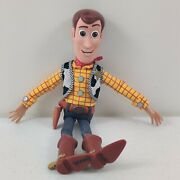 Disney Pixar Toy Story 4 Talking Woody Action Figure/ Pull-string Doll No Hat