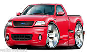 Ford Lightning Svt Truck 3ft Long Wall Graphic Decal Sticker Removable Vinyl
