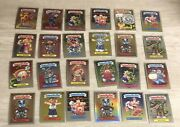 2020 Topps Garbage Pail Kids Chrome Base Lot Of 24 Cards - Incl. 1 Refractor H