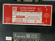 Square D 8903svo12 Lighting Contactor 4p 200a 120v Coil 60hz New Free Shipping