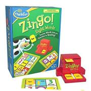 Thinkfun Award Winning Early Reading Game For Pre-k To 2nd Zingo Sight Words