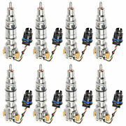 Complete Diesel Fuel Injector Set For Ford Excursion F250 6.0l Powerstroke