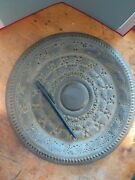 Vintage Brass Decorative Wall Plate Made In India