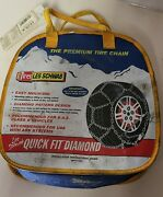 Les Schwab Quick Fit Tire Snow Chains, Stock 1525-s - Never Used -