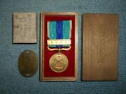Japanese Army Identification Tag Russo-japanese War Medal Military Antique Japan