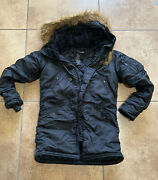 Alpha Industries N-3b Extreme Cold Weather Parka Womens Small