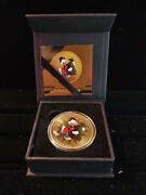 Extremely Rare Walt Disney Scrooge Mcduck 1oz Silver 999/1000 Le Of 200 Coin