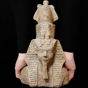 Bc Pharaonic Egyptian Antique Antiques Egypt Antiquities Figurine Statue -l300